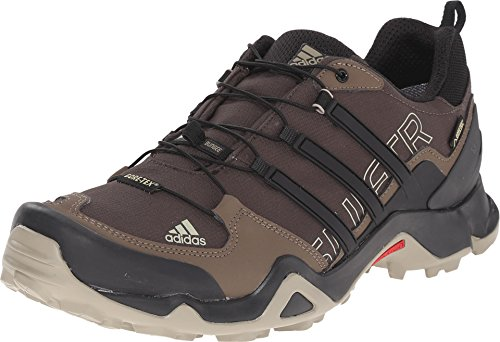 Adidas Sport Performance Men's Terrex Swift R GTX Sneakers, Brown Synthetic, Rubber, 12 M