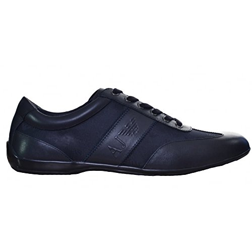 Armani Jeans Mens Navy Blue Classic Trainers 10.5 UK/45 Euro