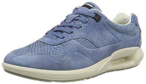 ECCO Women's Women's Cs16 Fashion Sneaker, Retro Blue/Retro Blue, 41 EU/10-10.5 M US