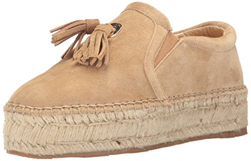 JSlides Women's Rosa Fashion Sneaker, Sand Suede, 7.5 US/US Size Conversion M US