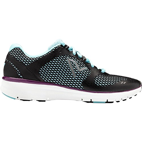 Vionic Womens Vio-Nrg Elation1.0 Laceup Sneaker Black/Teal Size 9