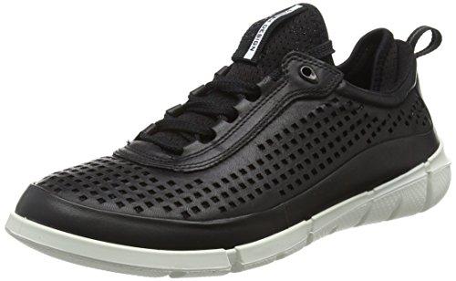 ECCO Men's Intrinsic Sneaker Sporty Lifestyle, Black/Black, 41 EU/7-7.5 M US