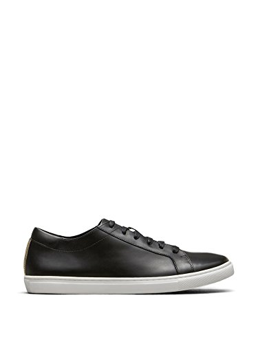 Kenneth Cole New York Men's Kam Fashion Sneaker, Black Leather, 11.5 M US