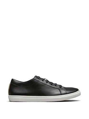 Kenneth Cole New York Men's Kam Fashion Sneaker, Black Leather, 10.5 M US